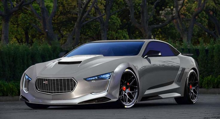 2016 Chevy Camaro Concept Car