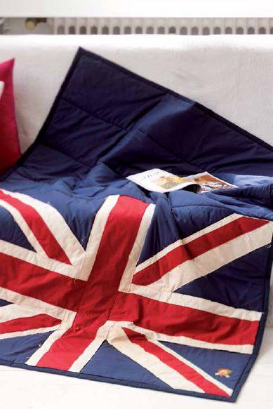 London Calling - Quilt im British-Style nähen