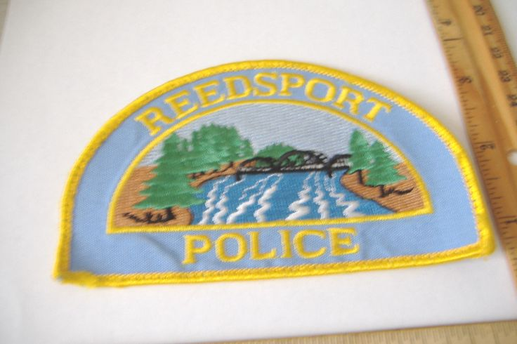 ~Reedsport~Oregon Police~Fabric Patch~ • $7.95 - PicClick
