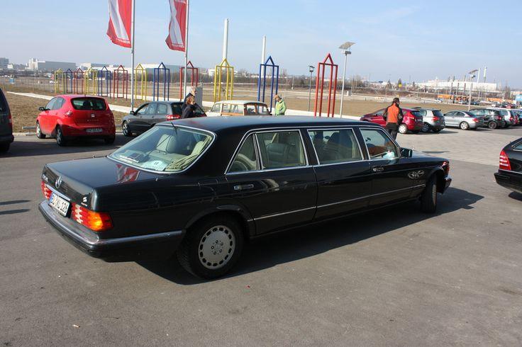Rolls Royce Limo >> Mercedes W126 S-Klasse - Meilenwerk Stuttgart/Böblingen | Mercedes w126, Limo and Rolls royce limo