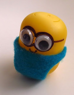 The Simple Craft Diaries: Kinder Egg Minion