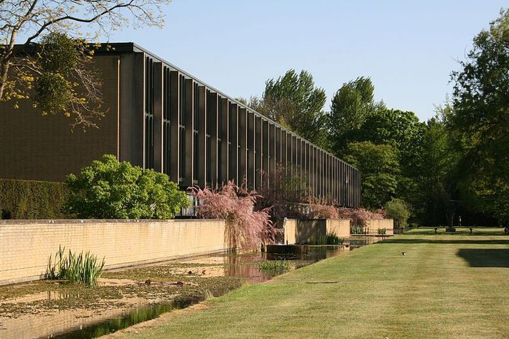 St Catherine College Oxford completed in 1962