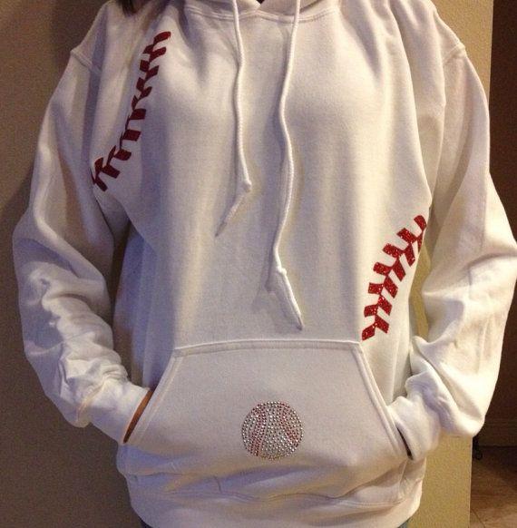 Baseball jacket by FleurdeBling on Etsy, $34.95