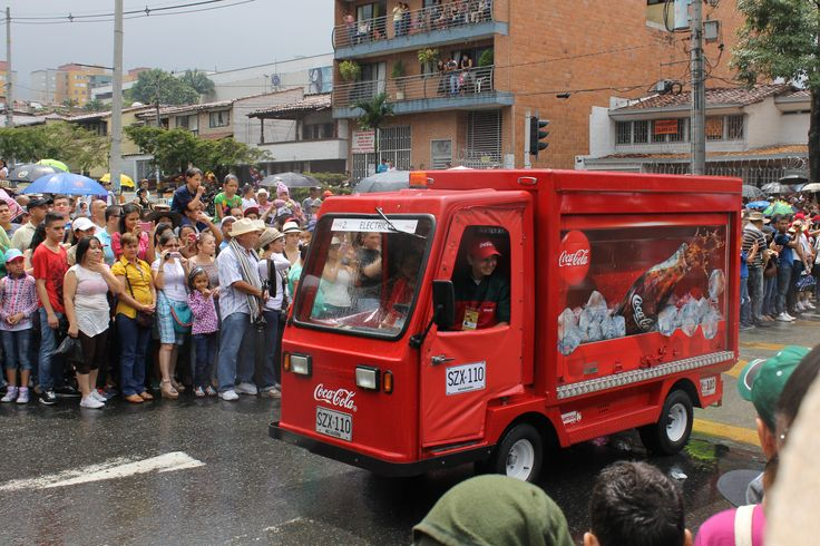 Carro de Coca Cola