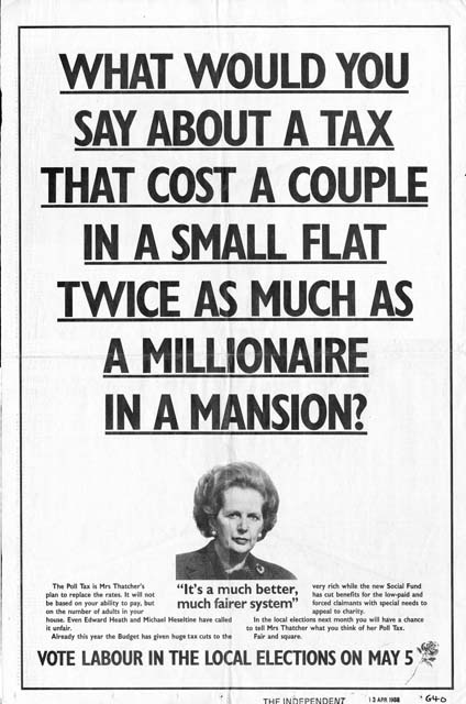 1988 Labour - Local elections | HAT's Online Gallery | The Ads | History Of Advertising Trust