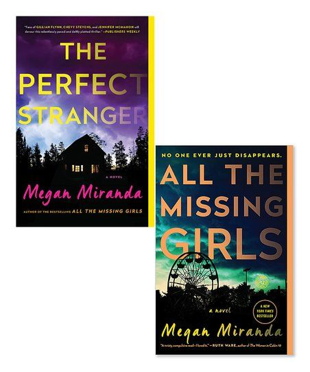 Simon & Schuster The Perfect Stranger & All the Missing Girls Paperback Set | zulily
