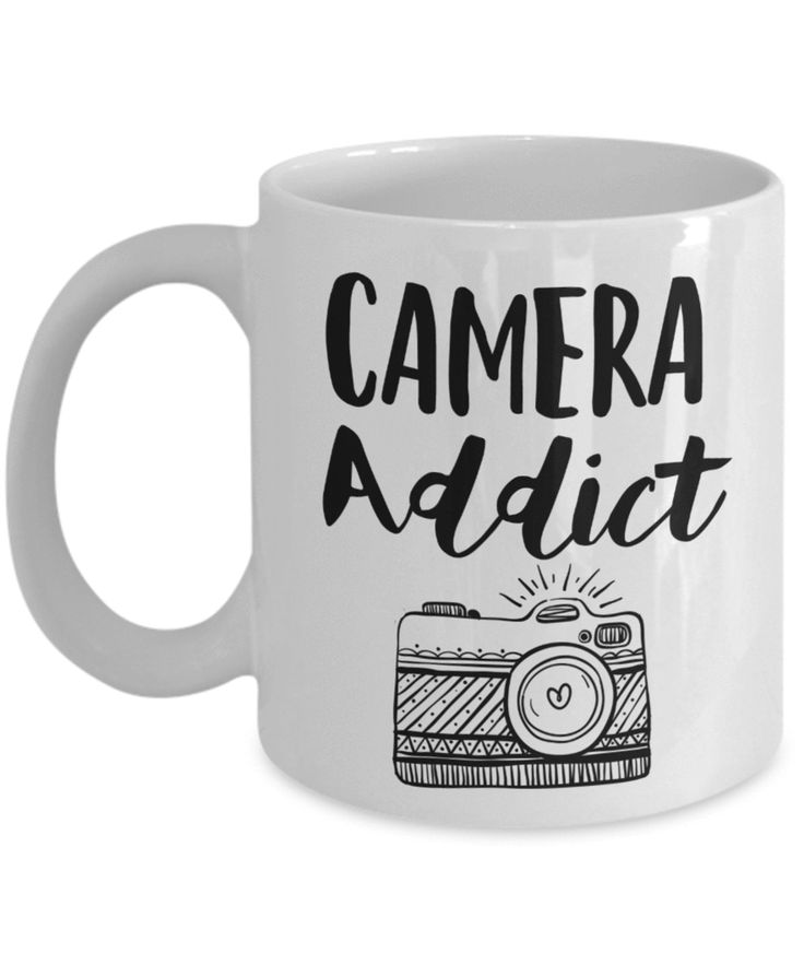 Camera Addict Photographer Mug