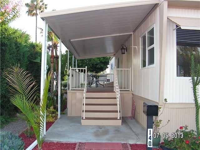 mobile home porch
