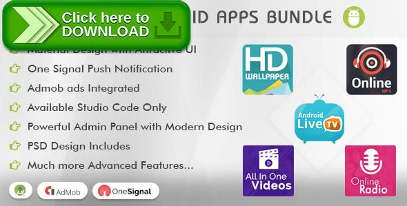 [ThemeForest]Free nulled download Viavi Top 5 Android Apps Bundle (TV, Radio, Wallpaper, MP3 & Videos) from http://zippyfile.download/f.php?id=56683 Tags: ecommerce, android application, fm, hd wallpaper, image, live tv, mobile tv, music, online radio, player, slideshow, songs download, video app, vimeo video, wallpaper, youtube app