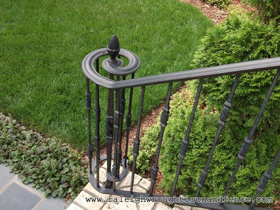 Porch railings from wood deck railings to aluminum porch railings
