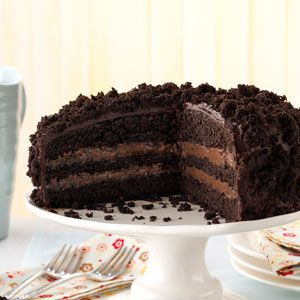 Brooklyn Blackout Cake Recipe from Taste of Home