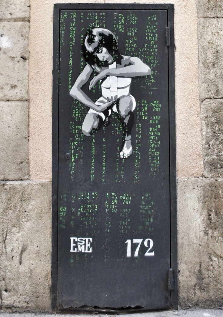 Street Art in El Born, Barcelona