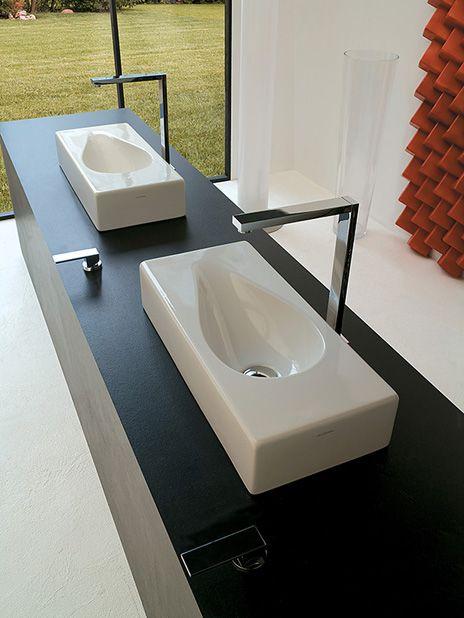 Medidas Griferia Baño:Lavabo Sp Medidas – 60×27 y 81×27 Disponible en color negro