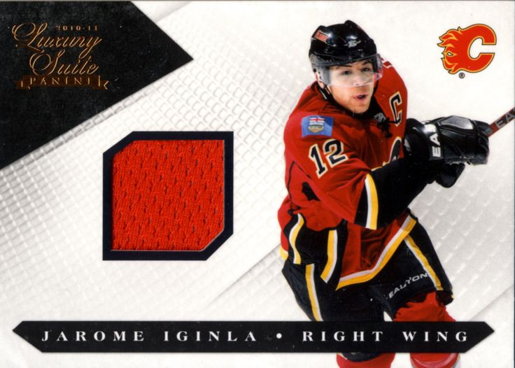 jarome iginla rookie card | ... Luxury Suite Hockey NHL Trading Cards Box Break Recap and Review