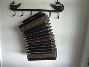 Old Antique German Made Accordion by RockySpringsVintage on Etsy