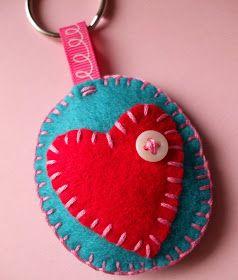 Lova Revolutionary : Blog: How To : Make A Felt Keychain