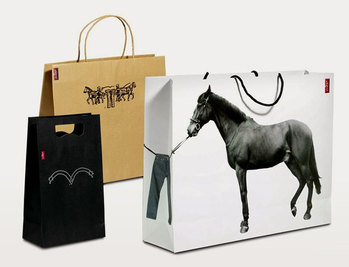 Levi's® Bags by Checkland Kindleysides branding. Cool PD