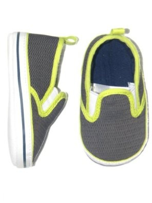 Sepatu Online Shop - Anak laki-laki Neon / Navy Mesh Slip-Soft Sepatu Bayi Tunggal oleh Goldbug | Pusat Sepatu Bayi Terbesar dan Terlengkap Se indonesia