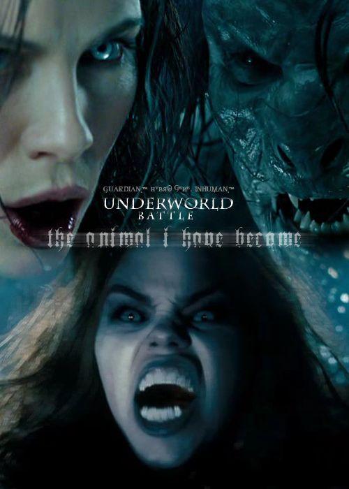 The Corvins 'Hybrids' Underworld Battle by TheDaggersTip.deviantart.com on @deviantART