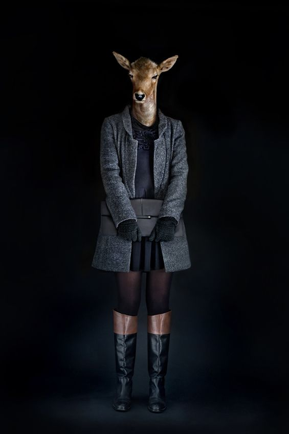Miguel Vallinas Second Skins: Fashionably Dressed Animals
