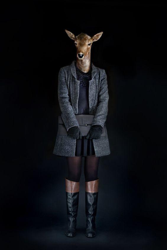 Miguel Vallinas Second Skins: Fashionably Dressed Animals