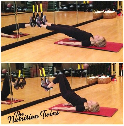Hamstring Pull-In/Curl | Tight, Toned, Thighs, Hips, Bootay in 1 Simple Move | Great If Need Alternative to Lunges | For MORE exercises, RECIPES please SIGN UP for our FREE NEWSLETTER www.NutritionTwins.com
