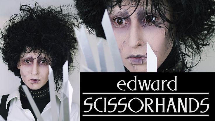 Edward Scissorhands Makeup | HALLOWEEN 2014