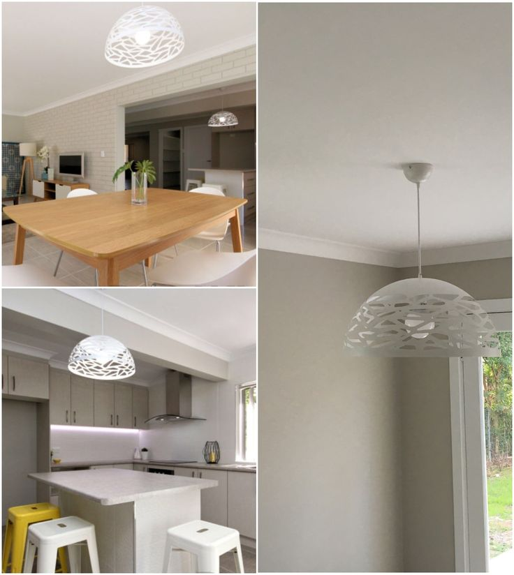 www.bitolalighting.com.au  'Farinda' drum pendant. Available in black, white and bronze metalware. Matching round metal ceiling canopy. 2 metre cord provided, which is adjustable to your desired height. Looks best with filament style globes installed as shown in the images.   Available in three sizes.