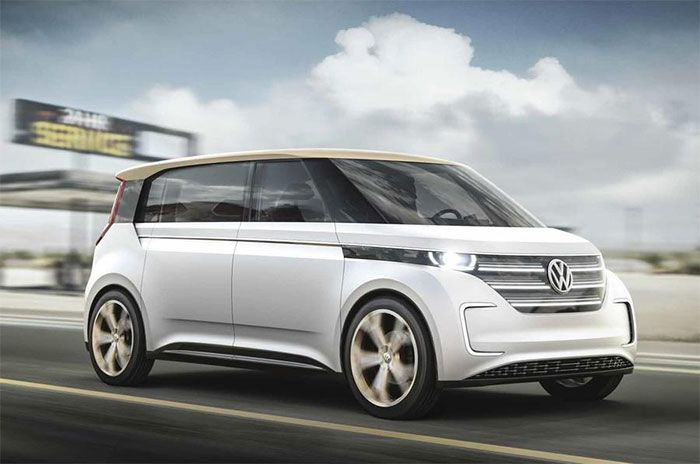 VW MPV microbus in the Works with up to 500 km Range