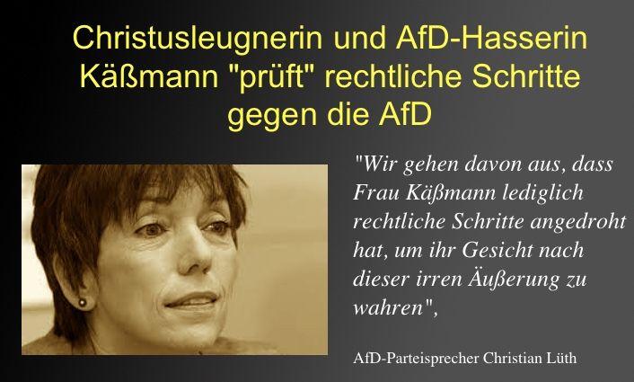 """. """"Ehe der Hahn kräht, wirst du mich dreimal verleugnen"""" Matthäus Kap. 26 """"Brücken bauen"""" will Käßmann, wenn es um [...]"""