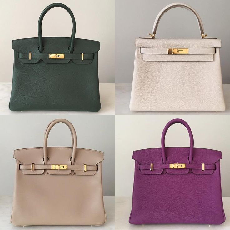paris fakes hermes - Hermes birkin 30 in vert anglais epsom leather, kelly 28 in craie ...