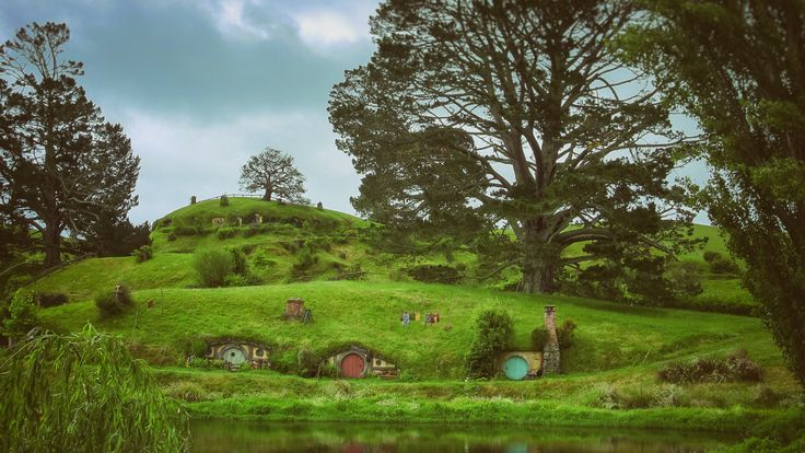 Over Hill and Under Hill (2013).  Oh to have neighbours like these.  Matamata, New Zealand. Words & Image: © Gary Light (2013). Creative Commons: (CC BY-NC-ND4.0).  #photography #art #nature #landscape #travel #newzealand