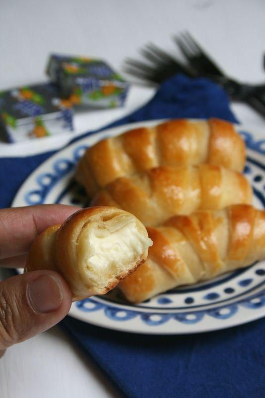 Chaussons au KIRI (avec une pâte sans oeufs ni beurre) - Passion culinaire by Minouchka
