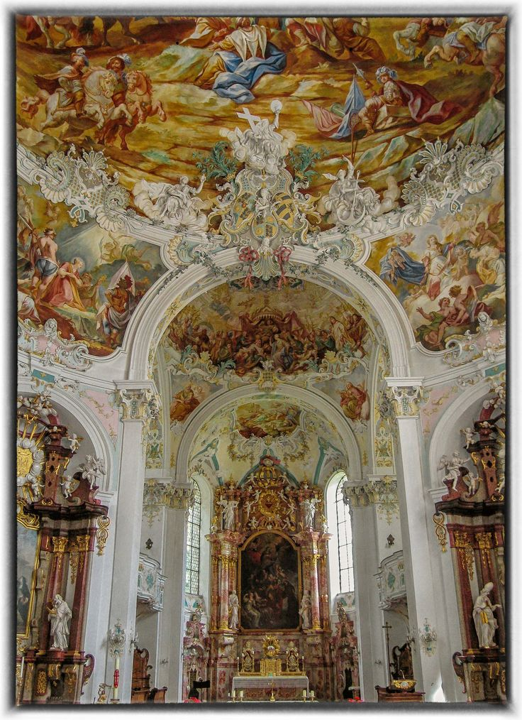 All sizes | St. Katharina in Wolfegg | Flickr - Photo Sharing!