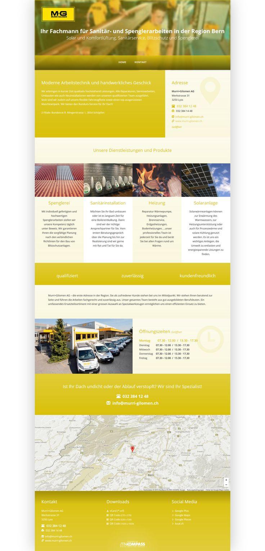 Murri+Gilomen AG, Lyss, Region Bern, Fachmann Sanitär, Spenglerarbeiten, Heizung, Sanitärinstallation, Solaranlagen