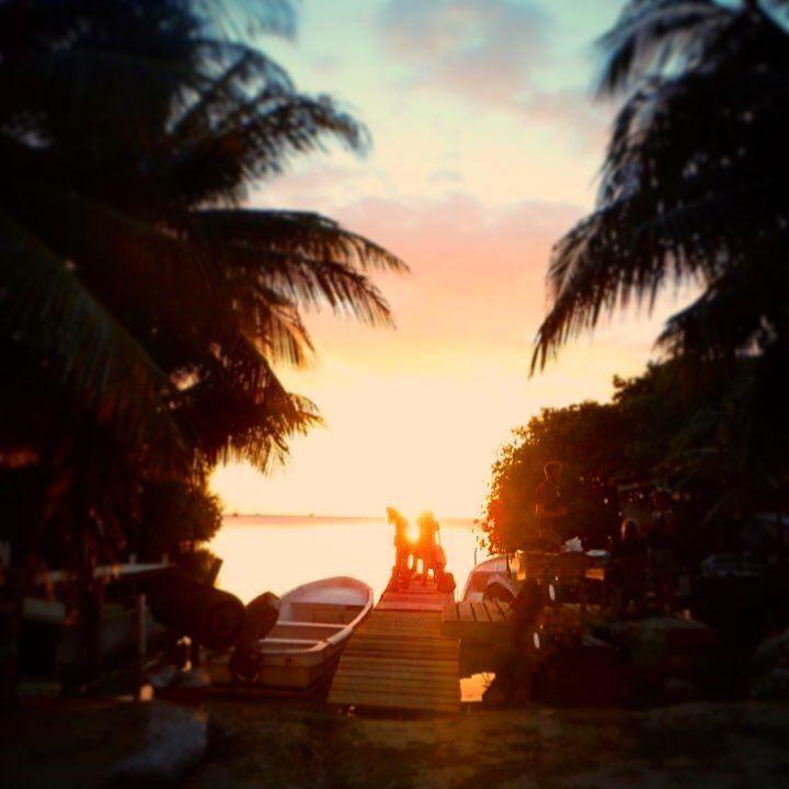 Caye Caulker - Belize - Tropical Paradise Sunset