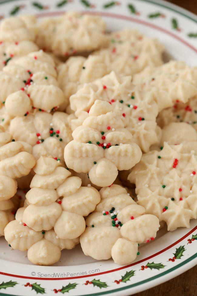 Shortbread cookies are simple and classicbuttery cookies that melt in your mouth. These easy cookies are made using a cookie press to create perfect holiday bites. High quality butter and vanilla will produce the best results. EasyShortbread Cookies (Cookie Press) Follow Spend With Pennies on Pinterest for more great recipes! Everyone has that one cookieContinue Reading...