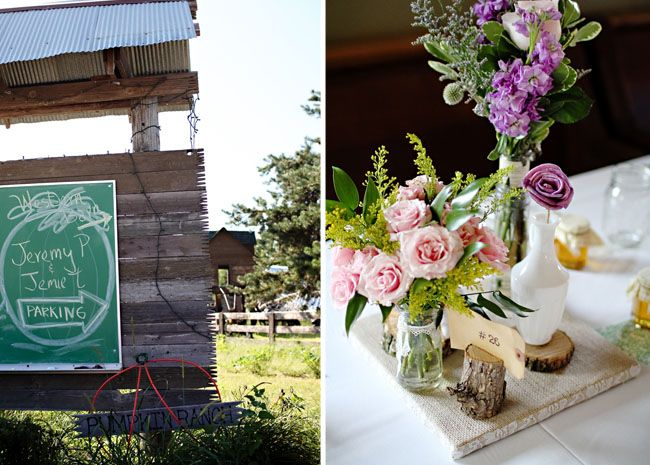 Real Wedding: Jamie + Jeremy's Rustic DIY Wedding
