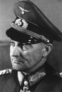 Generalfeldmarschall Walter Model (1891-1945) was considered the best German General of WW2. He was a fanatical Nazi and hated by his men. He was completely ruthless and spared no lives in his plans to stabilize the crumbling German armies and everywhere he was told to lead he worked miracles. The loss of the Remagen Bridge signed the death warrant for the German Army in the west and instead of facing war crimes charges, he drove into the woods and shot himself in the head.