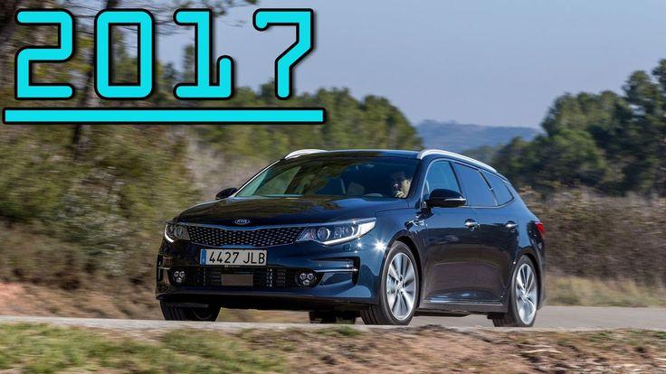 ►All New High Quality Interior Kia Optima Sportswagon 2017  First Drive ...