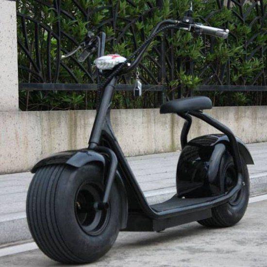 "Power Booster Elektrische Scooter Pro 18"" 1000W Zwart (Kleurkeuze)"