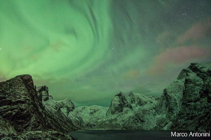 Aurora borealis lofoten by Marco Antonini on 500px