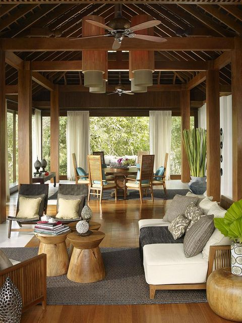 640 best tropical decor images on pinterest tropical for Tropical hotel decor