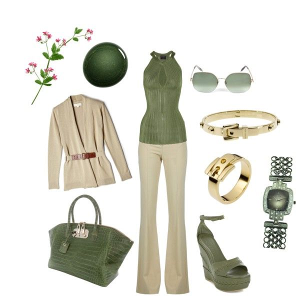 Eco Office Chic, created by capecodmichelle on Polyvore
