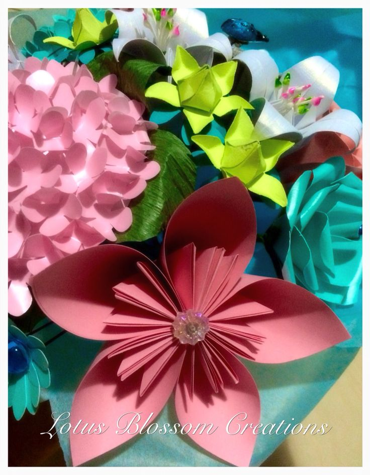 17 best images about lotus blossom creations handmade for Handmade paper creations