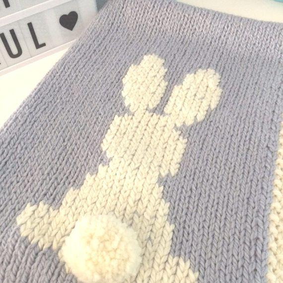 Rabbit blanket Couverture Lapin couverture bébé baby