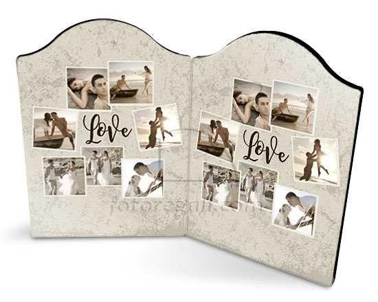 Cornice Love Crazy collage