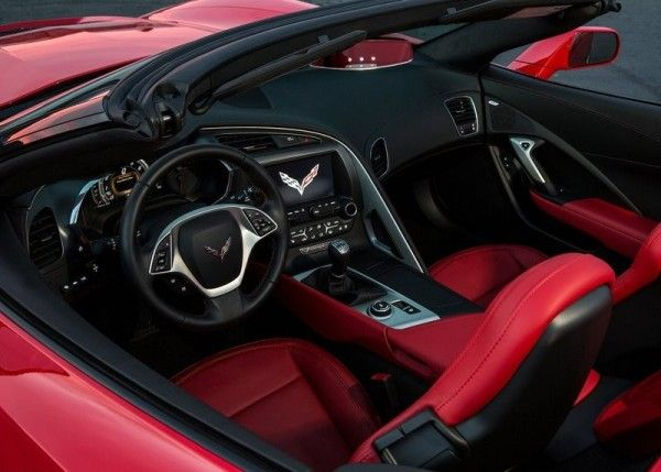 2014 Chevrolet Corvette C7 Stingray Convertible Reds interior 600x429 2014 Chevrolet Corvette C7 Stingray Convertible Full Review with Image...