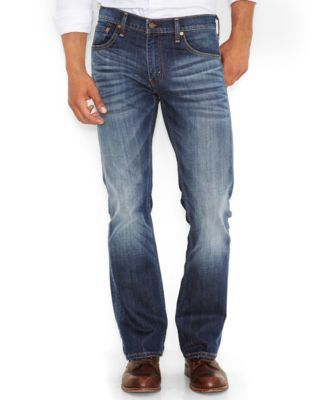 Levi's 527 Slim-Fit Bootcut Jeans, Wave Allusions