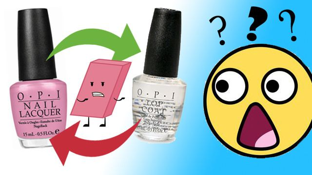 REMOVING NAIL POLISH....WITH NAIL POLISH?! - And other household items you can use if you run out of nail polish remover
